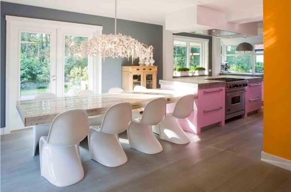 Креативные идея в современном интерьере кухни