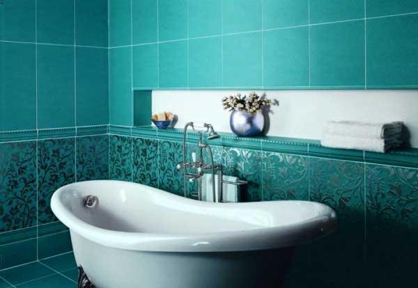 Выбор модной плитки для ванной