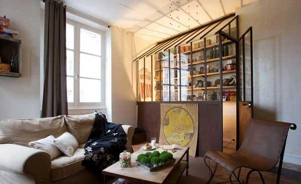 Электичная гостинная - рай коллекционера