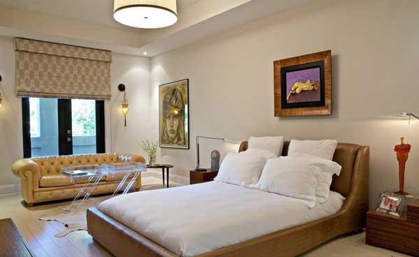 Соврерменная спальня-гостиная