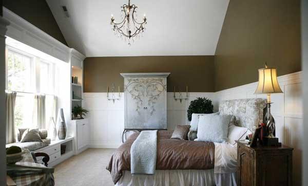 Шкаф для спальни в стиле прованс