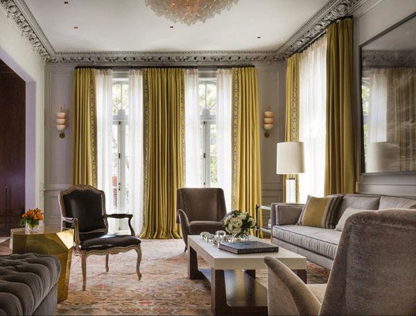 Оформление комнаты в неоклассическом стиле