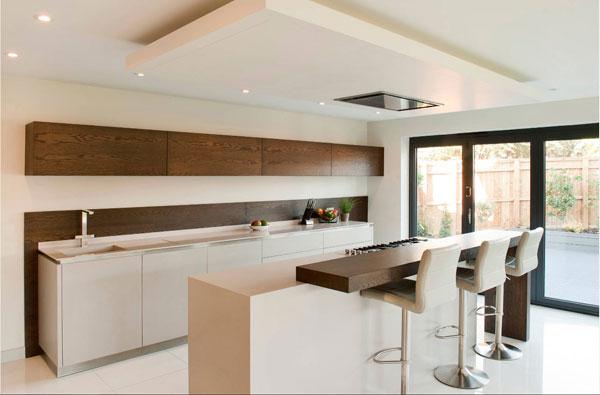 Обзор тенденций дизайна кухонного помещения 2017
