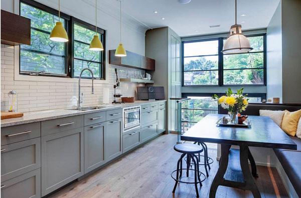 Современный дизайн кухонного помещения
