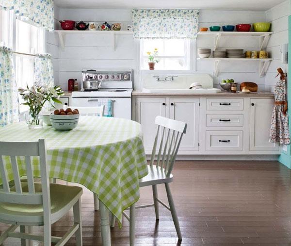 Использование текстиля в дизайне кухни