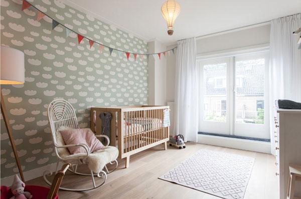 Оформление детской для новорожденного