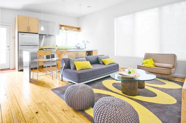 Натуральные материалы в интерьере квартиры