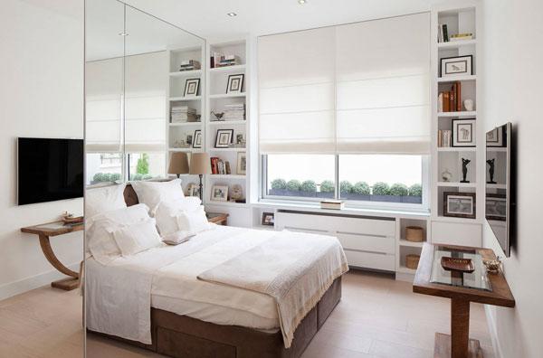 Однокомнатная квартира в светлых тонах