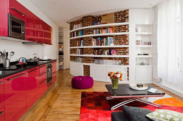 Оформление кухни в малогабаритной квартире