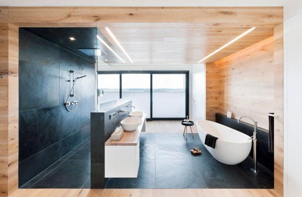 Мнимализм при обустройстве ванной