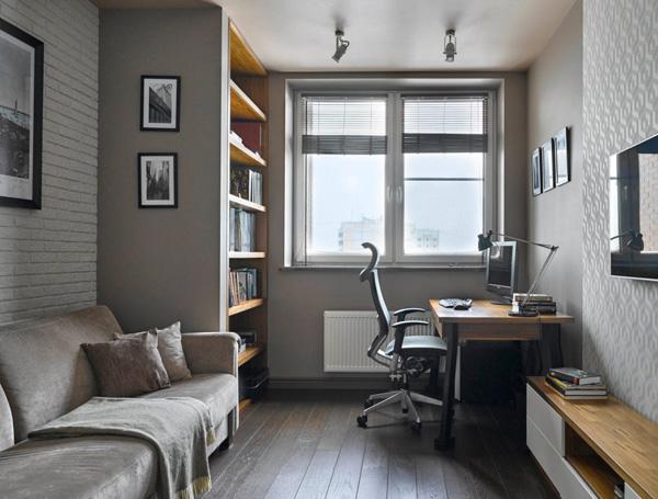 Дизайн рабочего места в квартире 2017