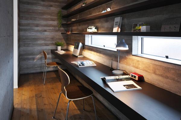 Домашний кабинет для двух человек