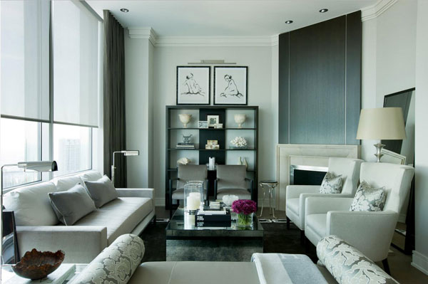 Интерьер современной двухкомнатной квартиры