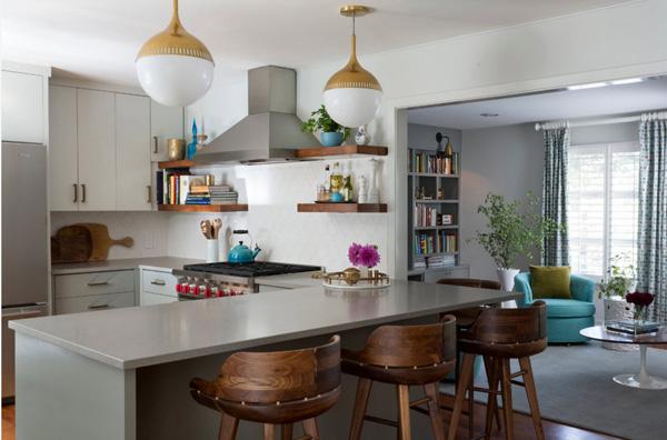 Тенденции дизайна кухни-гостиной в 2017 году