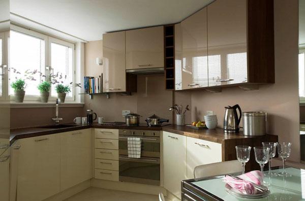 Выбор цвета для фасада кухни