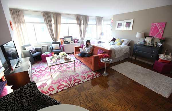 Дизайн однокомнатной квартиры площадью 40 кв. метров
