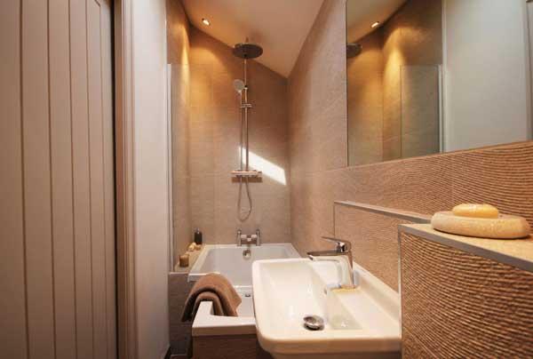 Оформление ванной в однокомнатной квартире