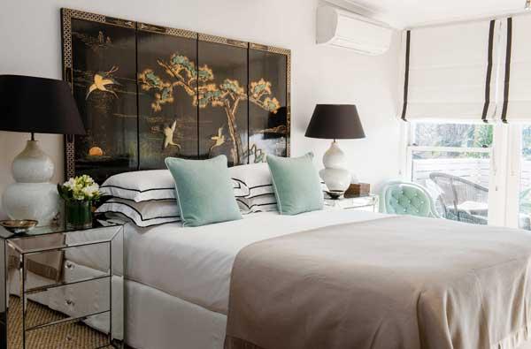 Текстиль при оформлении комнаты в японском стиле