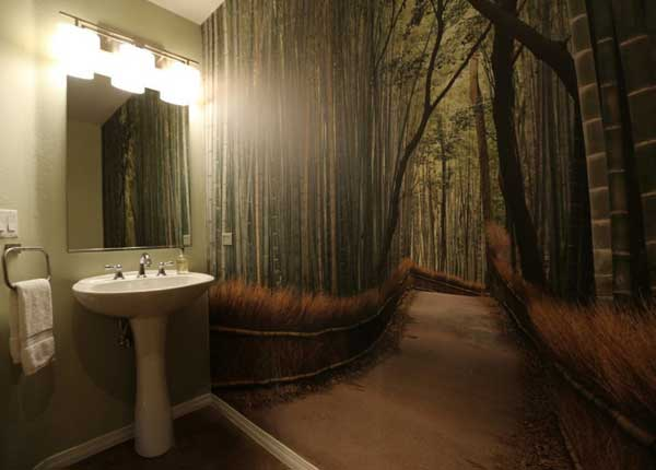 Фотопринт в ванной