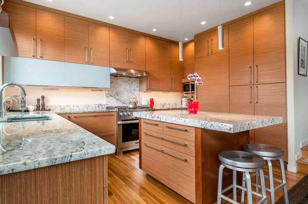 Оформление кухни 9 кв. метров 2018 года