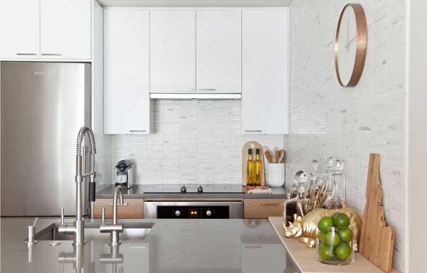 Оформление кухонного пространства в 2018 году